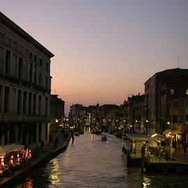 Belinda Greb - Venice Canal at Dusk