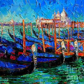 Mona Edulesco - Venice - Gondolas - Santa Maria Della Salute
