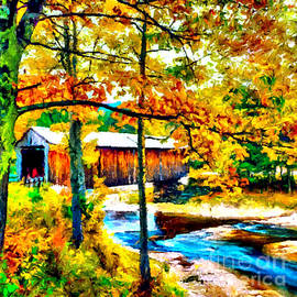 Bob Johnston - Vermont Covered Bridge