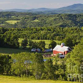 Alan L Graham - Vermont Summer Landscape