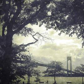 Frank Winters - Verrazano Bridge from South Brooklyn