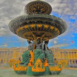 Tim G Ross - Versailles Fountain Paris
