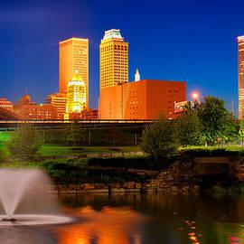 Gregory Ballos - Vibrant Tulsa Skyline