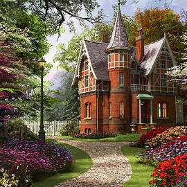 Victorian Cottage - Fine Art