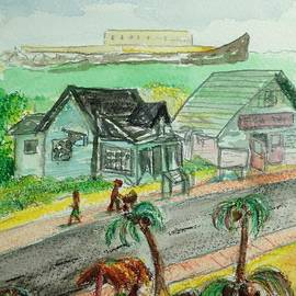 Anna Willard - View From a Fish Fry in the Bahamas