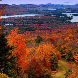 David Patterson - View From McCauley Mountain II
