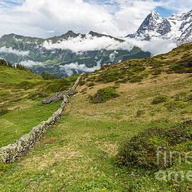 Mark Monckton - View from Murren Switzerland