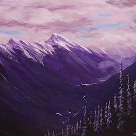 Michael Beckett - View from Sulphur Mountain