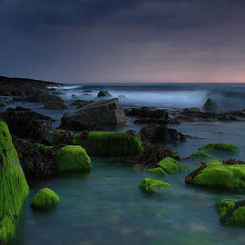 Peter Gau - view of mystic Irish seashore