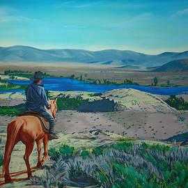 Joseph Juvenal - View of the Spillway off Little Dam Road