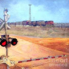 Janette Boyd Lee Boyd - Railroad Crossing