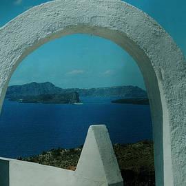Colette V Hera  Guggenheim  - View To Santorini Island