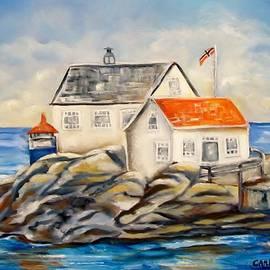 Carol Allen Anfinsen - Vikeholmen Lighthouse II