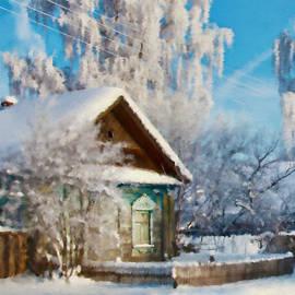 Olga Hamilton - Winter Village Scene