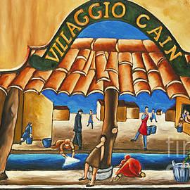 William Cain - Villaggio Cain Art Print