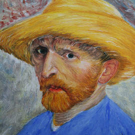Marna Edwards Flavell - Vincent in Straw Hat Reproduction