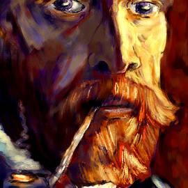 Saleires Art - Vincent in the sunlight