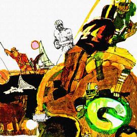 Big 88 Artworks - Vintage 1967 Green Bay Packers