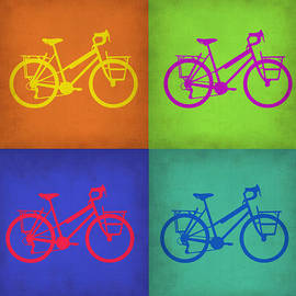 Irina  March - Vintage Bicycle Pop Art 1
