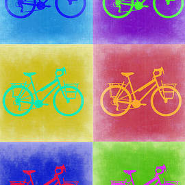Irina  March - Vintage Bicycle Pop Art 2