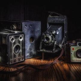 Tom Mc Nemar - Vintage Cameras Still Life