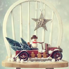 Christopher and Amanda Elwell - Vintage Christmas Truck