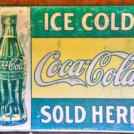 Michael Mazaika - Vintage Coca Cola Sign