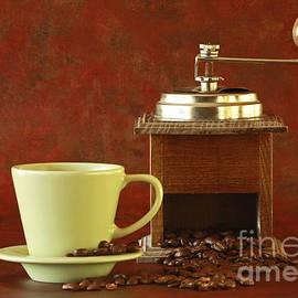 Inspired Nature Photography Fine Art Photography - Vintage Coffee Time