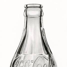 Sarah Batalka - Vintage Coke Bottle Drawing