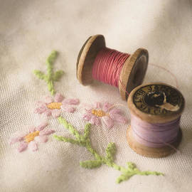 Jan Bickerton - Vintage Cotton Reels