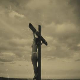 Ramon Martinez - Vintage crucifixion scene I