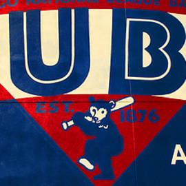 Stephen Stookey - Vintage Cubs Spring Training Sign