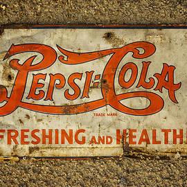 Greg Kluempers - Vintage Drink Pepsi Cola 5 cents DSC07157