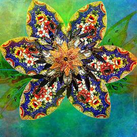 Ally  White - Vintage Flower