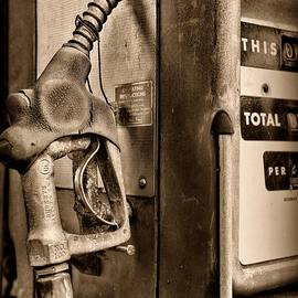 Paul Ward - Vintage Gas Pump Showing its Age