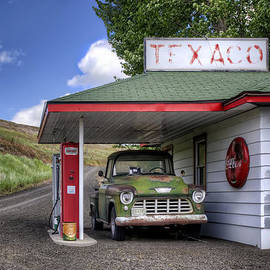 Nikolyn McDonald - Vintage Gas Station - Chevy Pick-up