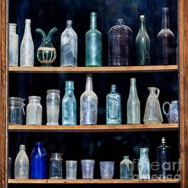 Art Block Collections - Vintage Glass Bottles