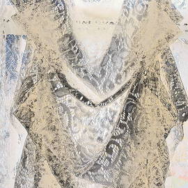 Kathy Barney - Vintage Lace Curtain