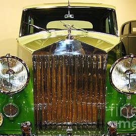 Jerry Cowart - Vintage Luxury Green Rolls Royce