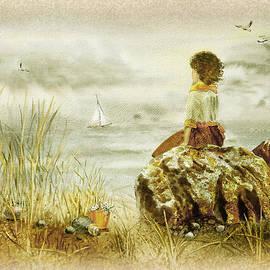Irina Sztukowski - Vintage Memories Girl And The Ocean