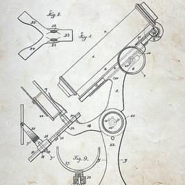 Paul Ward - Vintage Microscope Patent