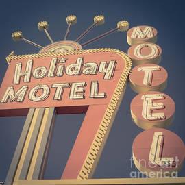 Edward Fielding - Vintage Motel Sign Square