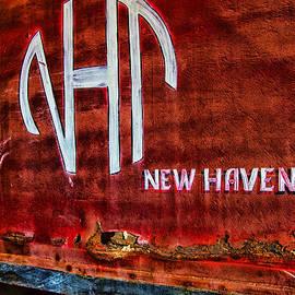 Karol  Livote - Vintage New Haven Train