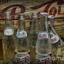 Paul Ward - Vintage Pepsi Crate and Bottles