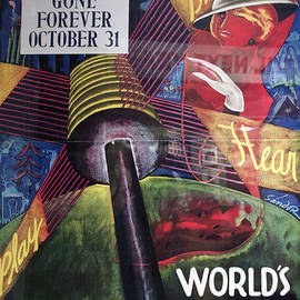 Thomas Woolworth - Vintage Poster Chicago 1934 Worlds Fair