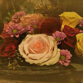 Richard Cummings - Vintage Rose Still Life