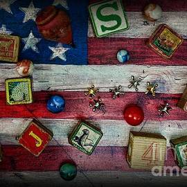 Paul Ward - Vintage Toys on the American Flag