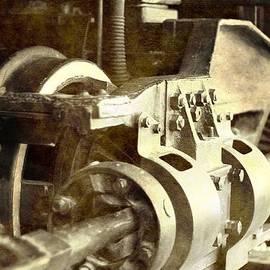 Dan Sproul - Vintage Train Wheel