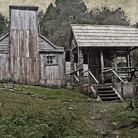 Tony Crehan - Vintage view of Waldheim Chalet at Cradle Mountain