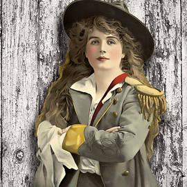 Peggy Collins - Vintage Woman in Uniform